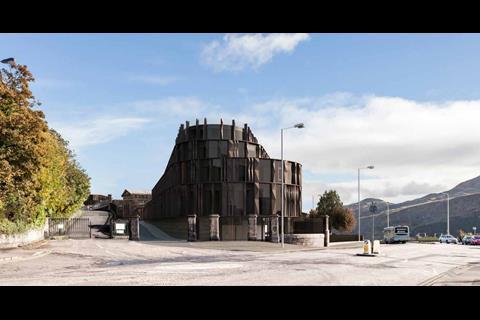 Hoskins edinburgh 2 proposed west entrance